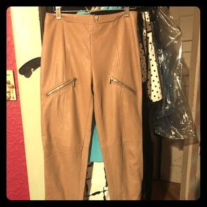Authentic Versace leather pants